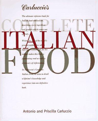 Download Carluccio's complete Italian food