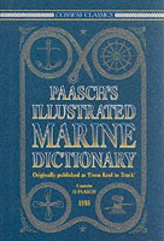 Paasch's illustrated marine dictionary
