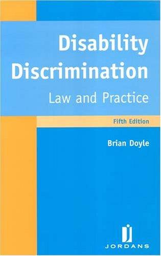 Download Disability discrimination