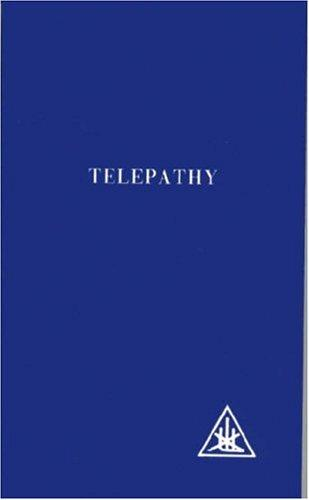 Download Telepathy and the Etheric Vehicle