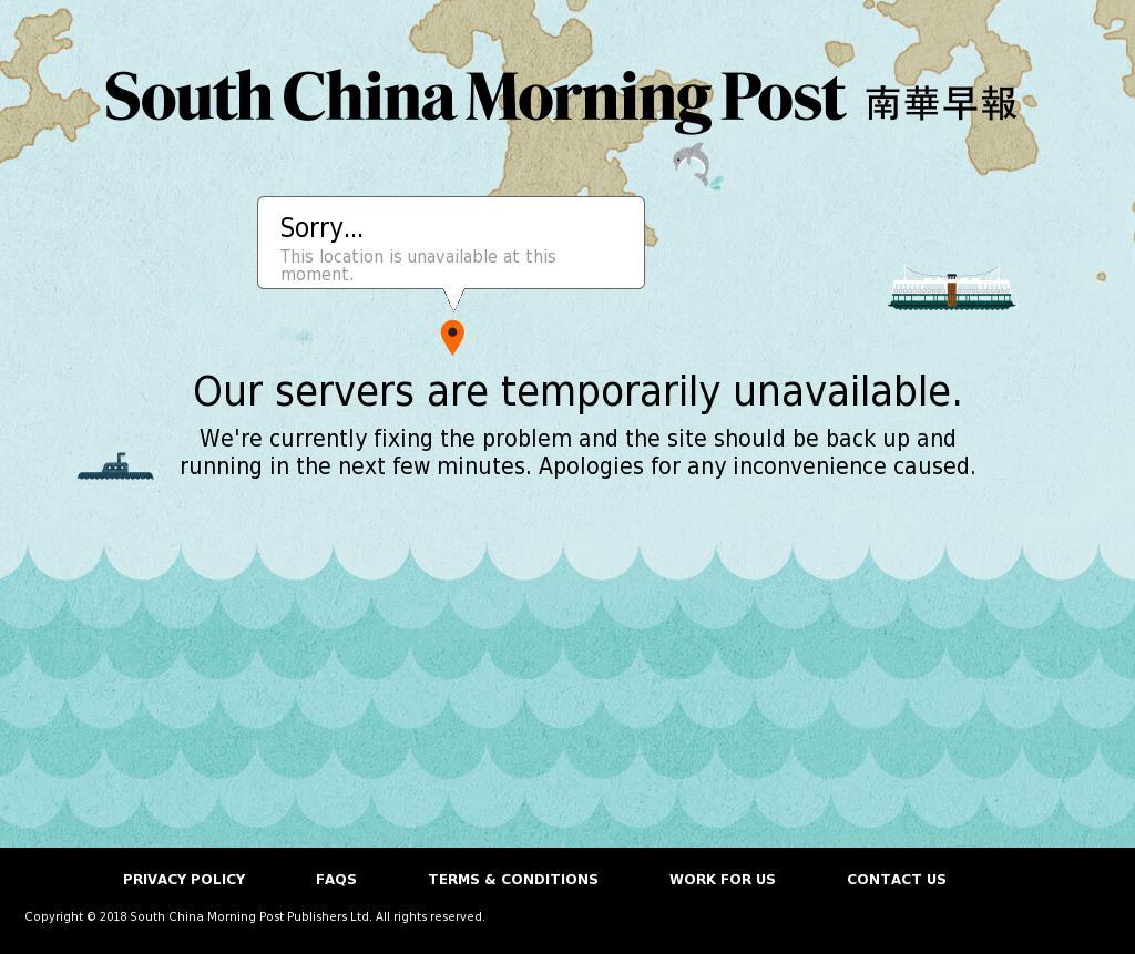 South China Morning Post at Tuesday Jan. 9, 2018, 9:21 a.m. UTC
