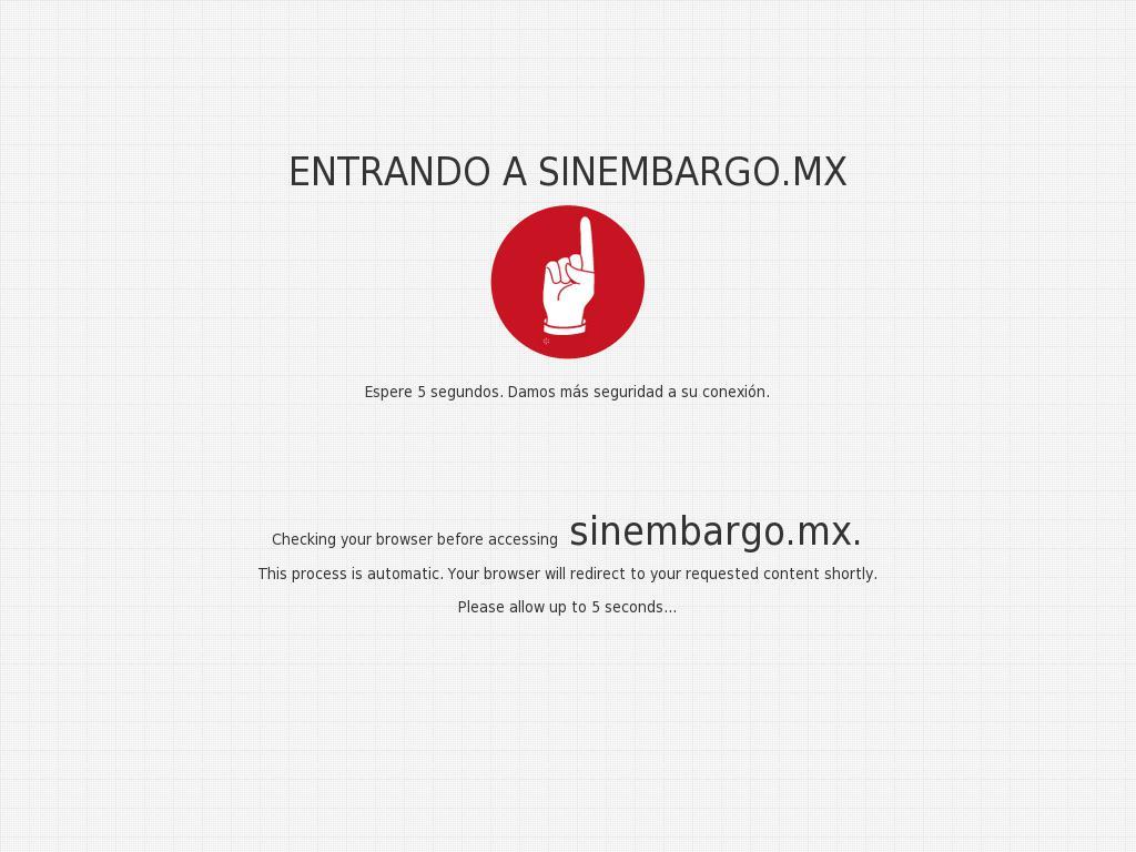 Sin Embargo at Saturday Jan. 27, 2018, 2:18 a.m. UTC