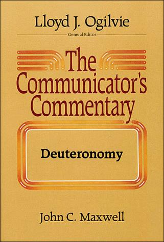The communicator's commentary by John C. Maxwell